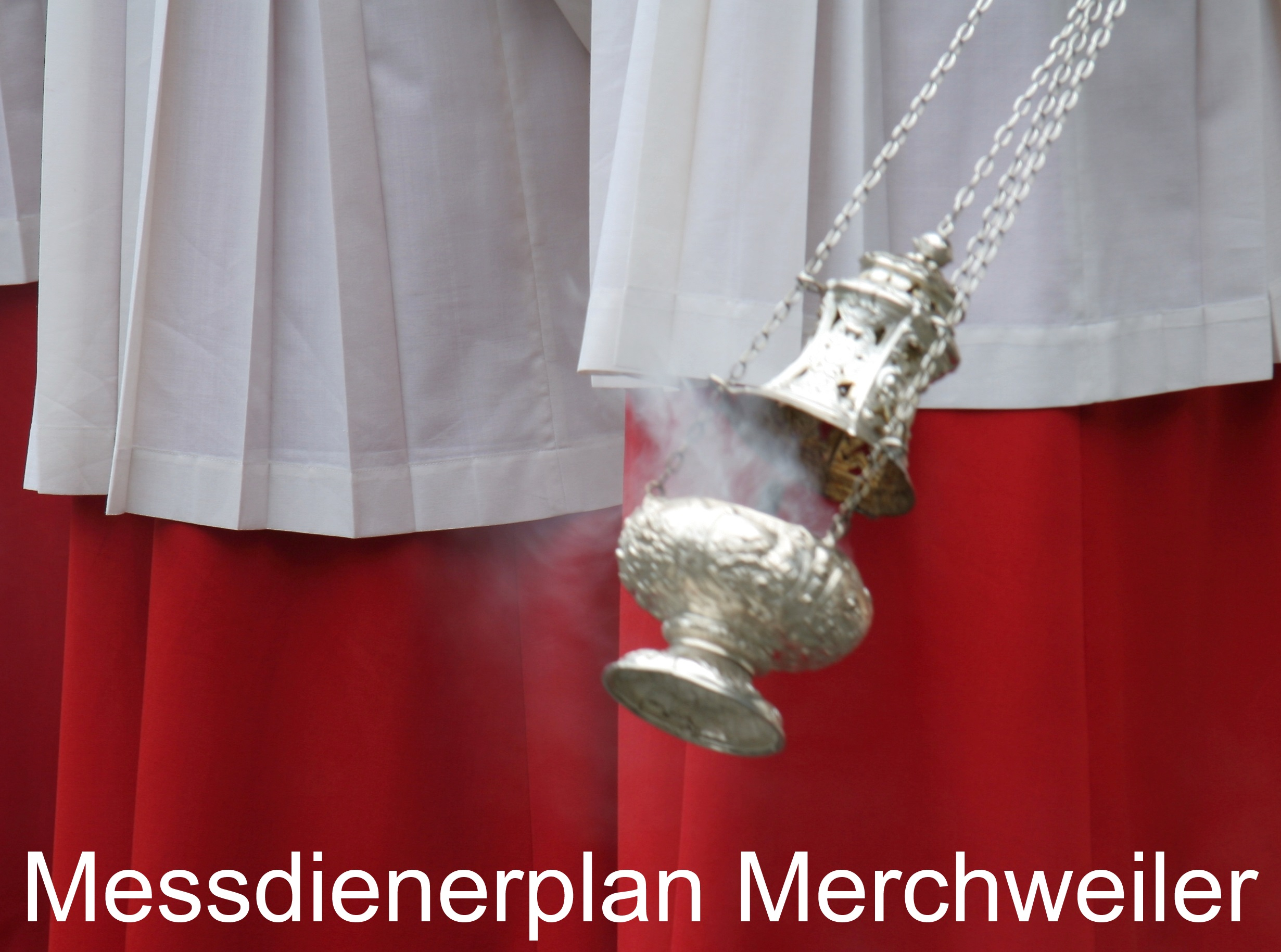 Messdienerplan Merchweiler